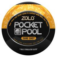 PP1/ Zolo Pocket Pool мастурбатор яйцо Sure Shot
